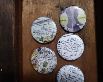 Green Day Dookie Pins