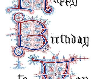 Happy Birthday to You ~ Heidelberg Series