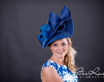 U70 hat Royal Ascot hat Ballhut Kentucky Derby has horse racing couture Millinery Sinamay has wedding fascination