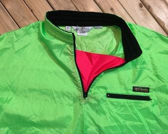Columbia Anorak pullover windbreaker jacket