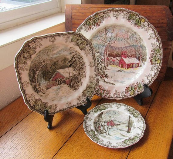 Friendly Village 4 Piece Place Setting 4 Available