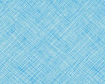 Architextures - Crosshatch Paris Blue - Carolyn Friedlander - Robert Kaufman (AFR-13503-391)
