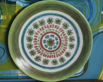 Vintage 1970's Ornaminware Dinner plate
