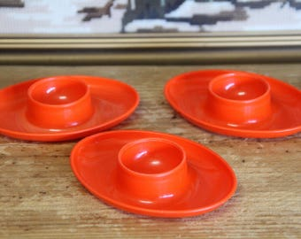 Vintage Retro Egg Cups Stackable (3)