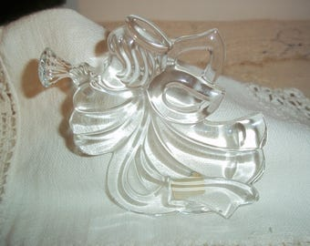 Vintage Mikasa Crystal Trumpet Angel Ornament Made in Germany Excellent Condition Perfect for Gifting Free Shipping!