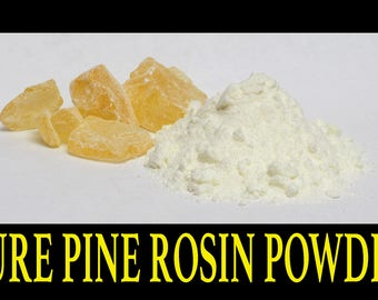 1 Lb. Powdered Pine Gum Rosin / Colophony / PURE ROSIN POWDER