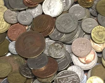World Coins - Lot of 50 World Foreign Coins