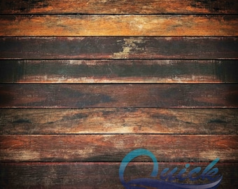 Dark Grunge Wood! - Vinyl Photography Backdrops