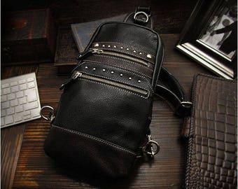 Leather Backpack K05D51