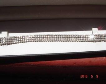 8.06 Cts diamond white gold Bracelet