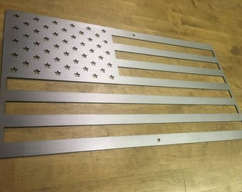 USA Steel Metal Flag Home Decor Wall Art