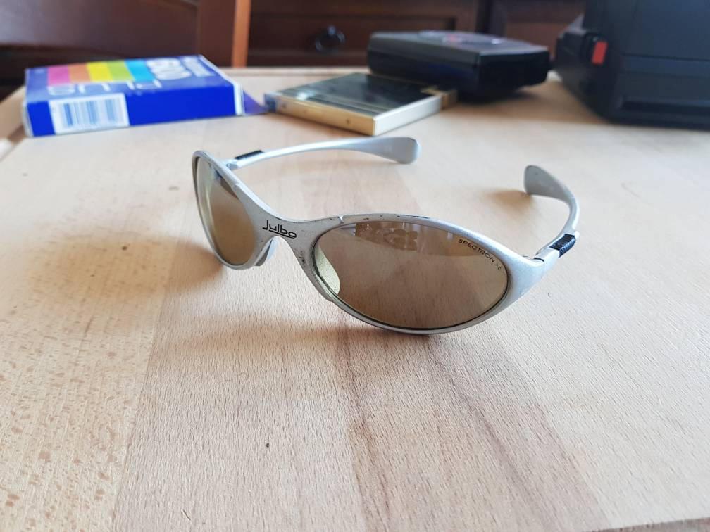 6d9bb0b9db Vintage 80 s Julbo Sherpa spectron x5 glacier glasses made in France
