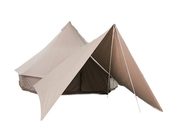 Stout Bell Tent Canvas Awning