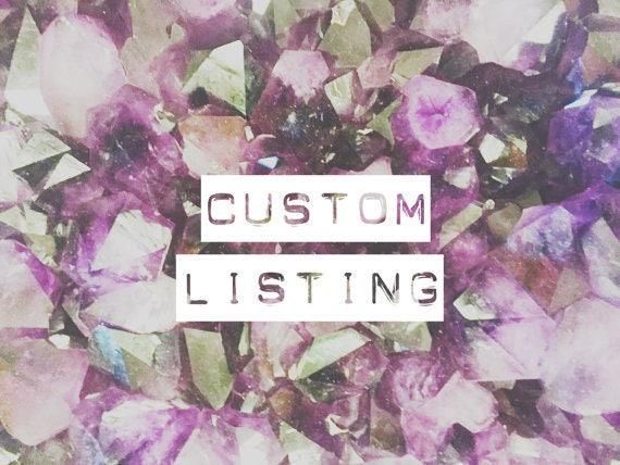 Custom Listing for Brooke