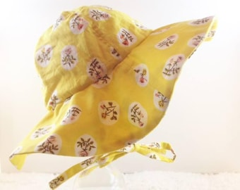 Sun Blossom Floppy, Sun Hat, Sun Bonnet, Beach Hat
