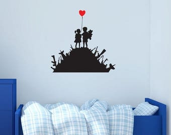 Gun Wall Decal Etsy - Locations where sell wall decals
