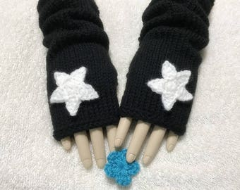 Wool Fingerless Gloves,  Color Choices.