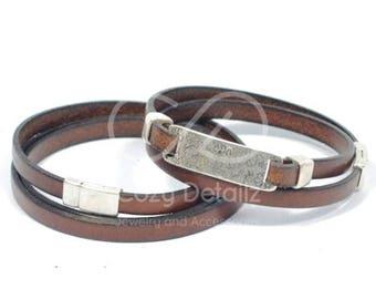 VALENTINES DAY couples bracelets, leather bracelets for couples, couples jewelry, engraved bracelet, girlfriend boyfriend jewelry, men women