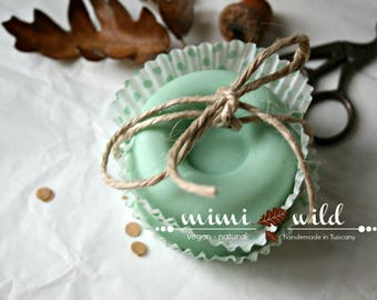 """Milk and Mint set of 2 PCs"" natural SOAP"