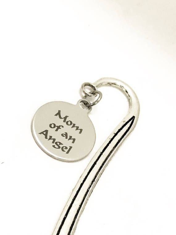 Mom Of An Angel Gifts, Mom Of An Angel Bookmark, Miscarriage Sympathy Gifts, Angel Mom Gifts, Miscarriage Memorial Gifts, Child Loss Gifts