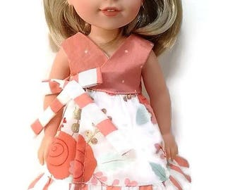 Doll dress  for your  Wellie Wisher Doll