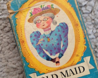 how to play old maid with a deck of cards