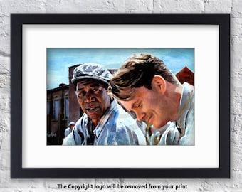 The Shawshank Redemption - Mounted & Framed Art Print