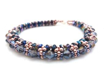 Crystals Bracelet - Sparkling Swarovski Bracelet - Dainty Bracelet - Summer Bracelet - Gift for Her