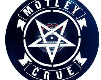 Motley Crue - Vinyl Record Art