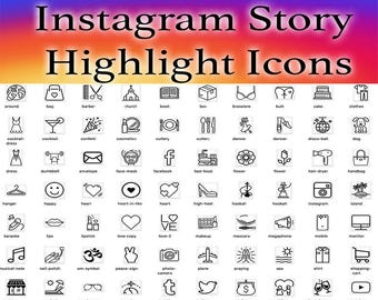 Instagram Icons Etsy