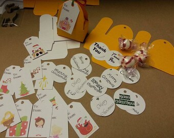 Personalize Small Circle, Rectangle, Leaf, Oval, Square & more Seal Tag/Label