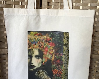 Tote bag personalized pattern woman