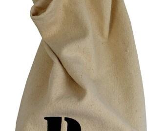 "Hanging fabric ""ECRU"" bread bag"