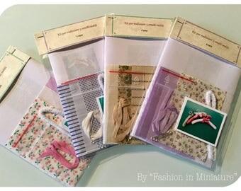 Mini lovely hangers in kit - 1:12 scale
