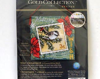 The Gold Collection Petites - Wish Ornament Cross Stitch Kit #70-08846