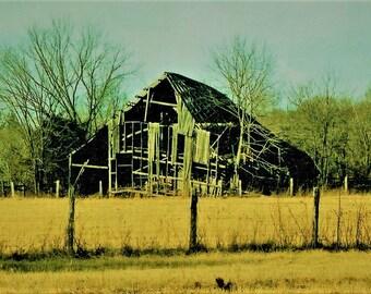 old abandon barn