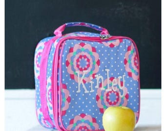 Zoey Monogrammed Lunchbox