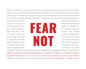 Fear Not Scripture Printable