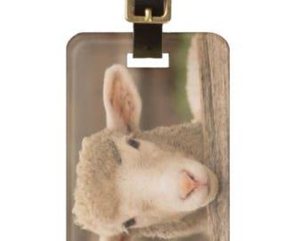 Luggage Tag - Little lamb