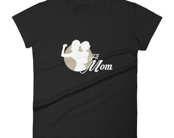 Women's short sleeve t-shirt Fitmom