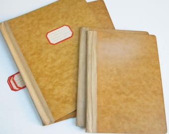 Folder Covers / Bookbinding Supply / Pressboard Phamplet Binder Covers / 2 Smaller / 2 Larger