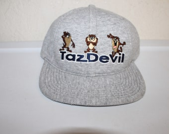 Vintage 90's TazDevil Snapback by Warner Bros