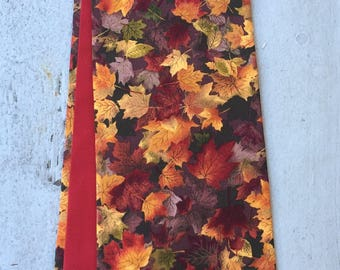 Reversible clergy Stole- Wonderful Fall leaves!  Pastor stoles, Minister stole for Ordinary time.  A perfect gift!