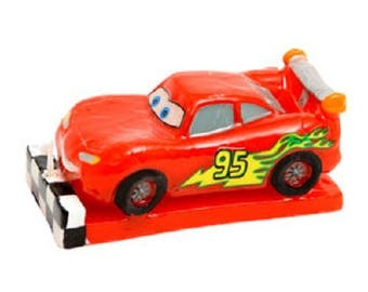 Decorative candles Cars - licensed product