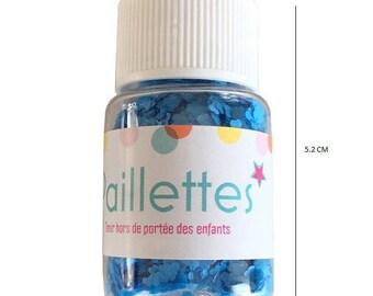 Glitter clouds - Blue - 10 grams