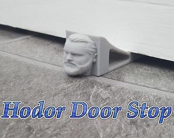 Hodor Door Stop DoorStop 3D Printed Design Hold Door Game Of Thrones Character Fantasy Dragons Gadget Collectors Fun Trendy Geeks Nerds TV