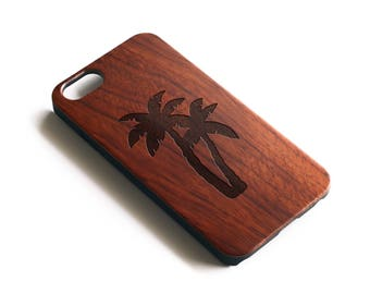 Tropical iPhone Case, Palm Tree iPhone 6 Case, iPhone 7 Plus Case, Wood iPhone 7 Case, iPhone 6S Case, iPhone 5S Case, iPhone 6 Plus Case,