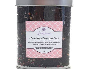 Lavender Black Rose Tea