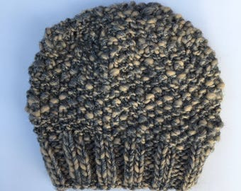 Knit beanie, Bohemian Slouchy Beanie, Womens Knit Hat, Holiday Gift, Christmas Gift, Teachers Gift, Knit Beanie, Wool Hat, Gift Under 20
