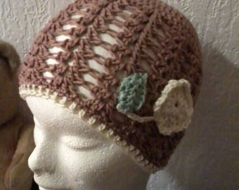 adorable Beanie hat for girl cotton